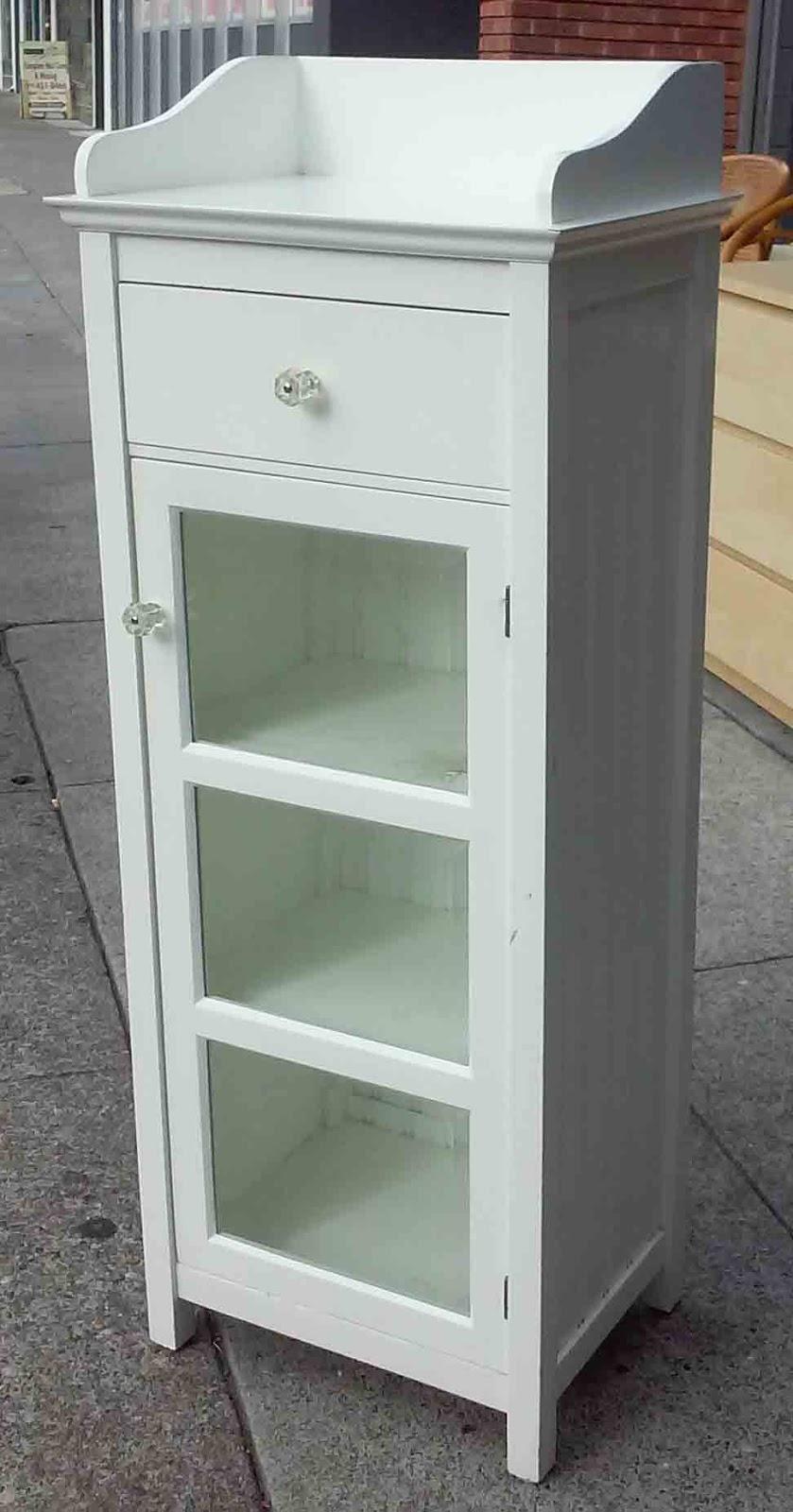Uhuru Furniture Collectibles Sold Pottery Barn Bathroom Cabinet 95