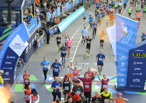 New York Marathon 2015 Finish Line