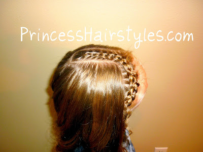 front braid hairstyle