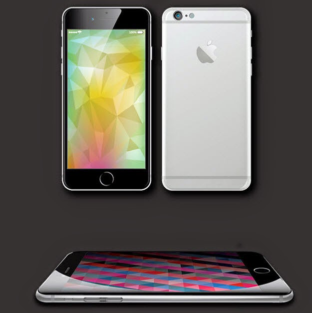 Vector Mockup iPhone 6 Ai+eps