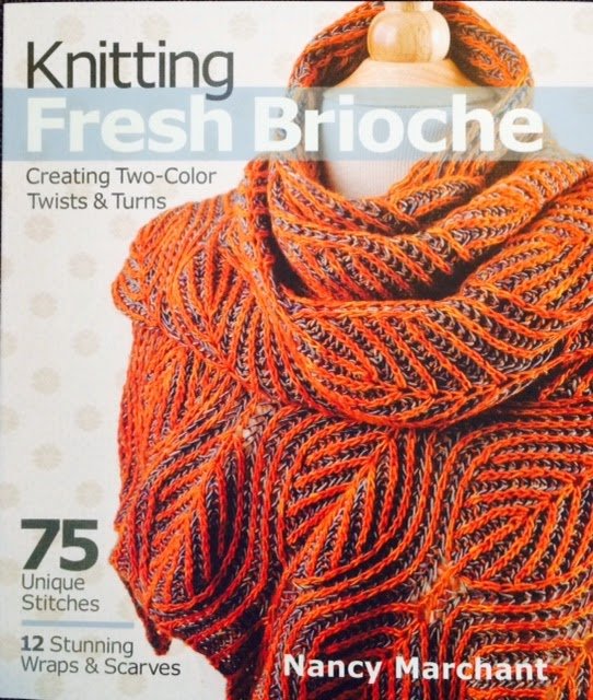 At First Glance: Book Review: Knitting Fresh Brioche, Creating Two-Color Twis...
