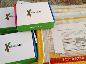 Olive Tree Genealogy: DNA Tests from 23andMe