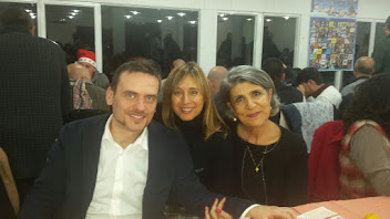 LUIGI GALLO E MARIA MUSCARA' CON IL NOSTRO PORTAVOCE