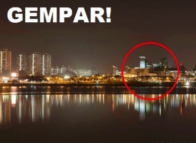 Kejadian Aneh Berlaku di Malaysia Awal Pagi