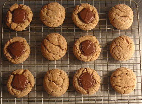 Cashew Butter Cookies and Dove Cashew Butter Blossoms
