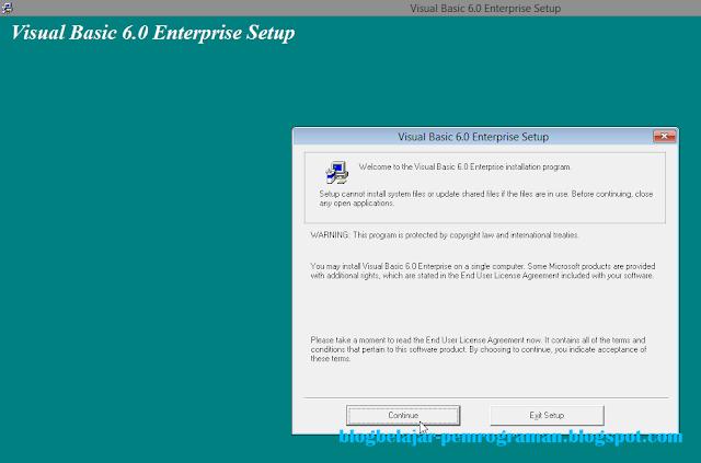 Panduan dan Cara lengkap Install Visual Basic 6.0