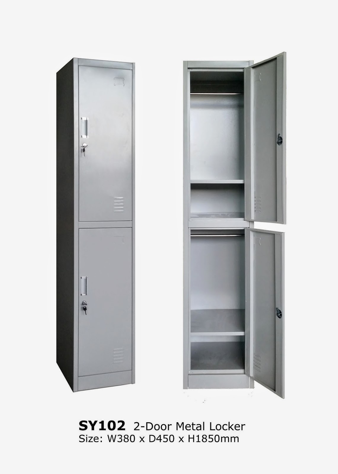 Metal Cabinet / Metal Locker / Filing Cabinet / Bolt Less Rack