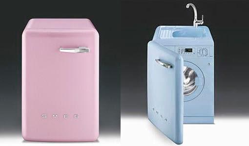 La maison 17 decoraci n interiorismo un cuarto de lavado y plancha organizado - Lavadora secadora pequena ...