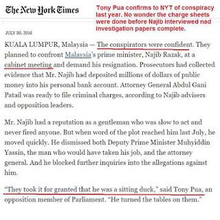 Akhirnya, Konspirasi Terhadap PM Najib Razak Terbukti