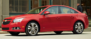 2013 Chevrolet Cruze LTZ Turbo victory red