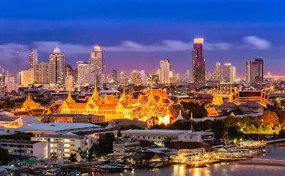 Вечерний Бангкок, без мятежей и волнений. 27.02.2014