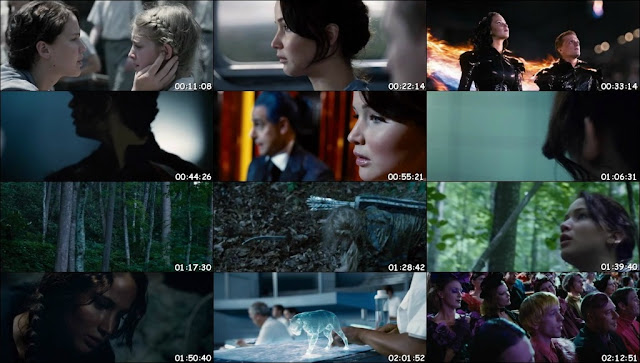 The Hunger Games (2012) BDRip 480p 600MB