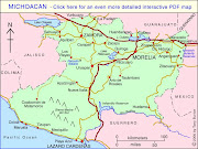 Mapa de Morelia Político Región (mapa de morelia)