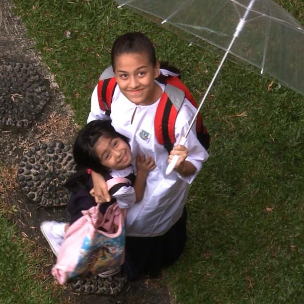 Gambar Cun Jasmine Jessica a.k.a Chempaka Geng Bas Sekolah