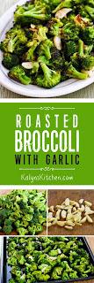 Roasted Broccoli with Garlic [KalynsKitchen.com]