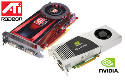 Main Graphics Cards manufacturers