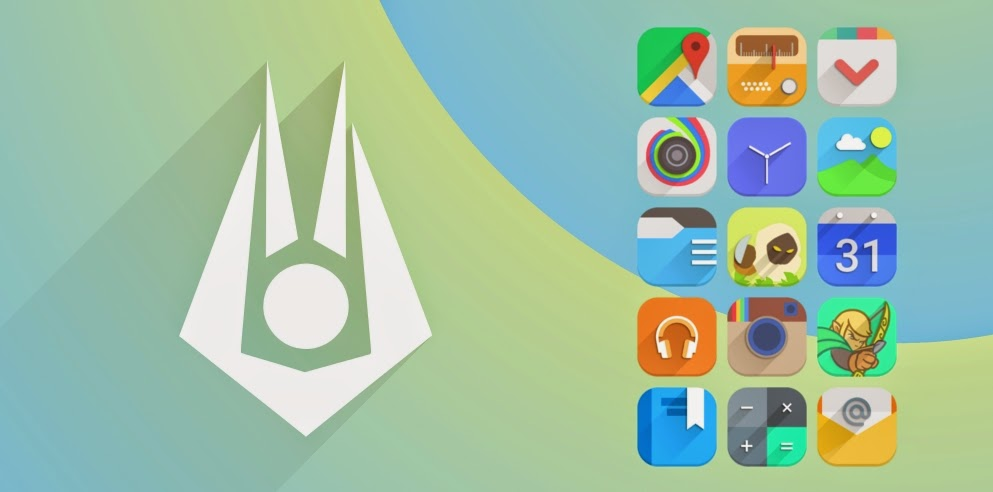5 Icon Pack Murah ASUS Launcher untuk Zenfone