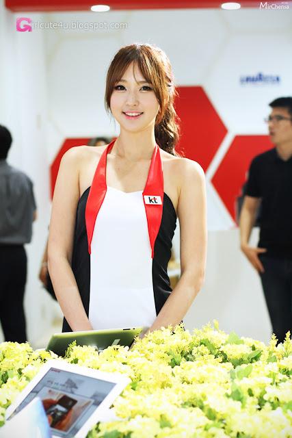 2 Choi Byeol Ha - World IT Show 2013  - very cute asian girl - girlcute4u.blogspot.com