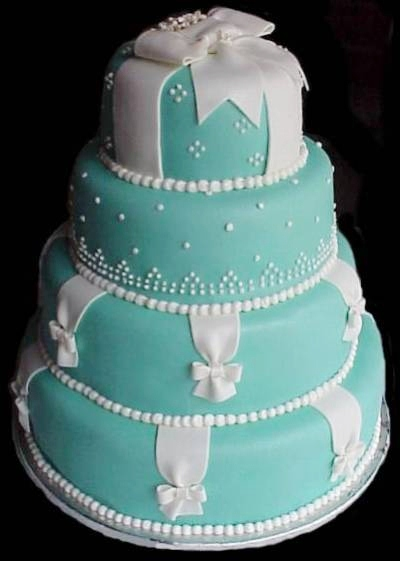 Tiffany Blue Cake Design : lamb & blonde: Wedding Wednesday: Tiffany blue