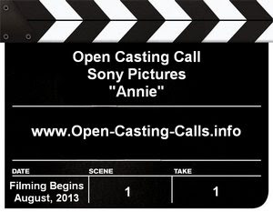 Sony Pictures Annie Online Open Casting Call