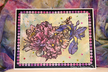 This card was featured on the Stampendous Blog/Facebook page