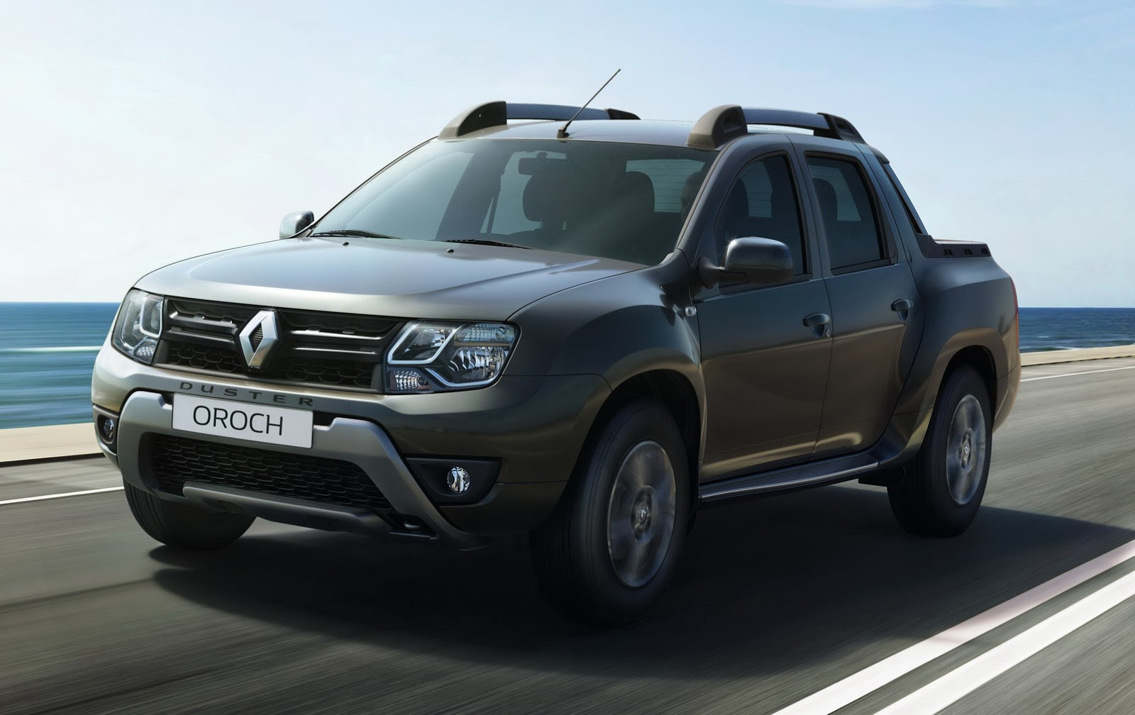 this is renault 39 s new duster oroch small pickup truck. Black Bedroom Furniture Sets. Home Design Ideas
