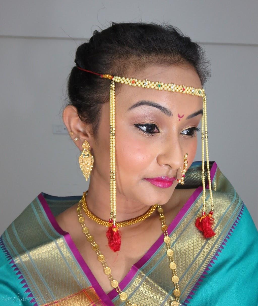 Maharashtrian Bridal Makeup