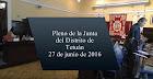 Pleno de la Junta del Distrito de Tetuán