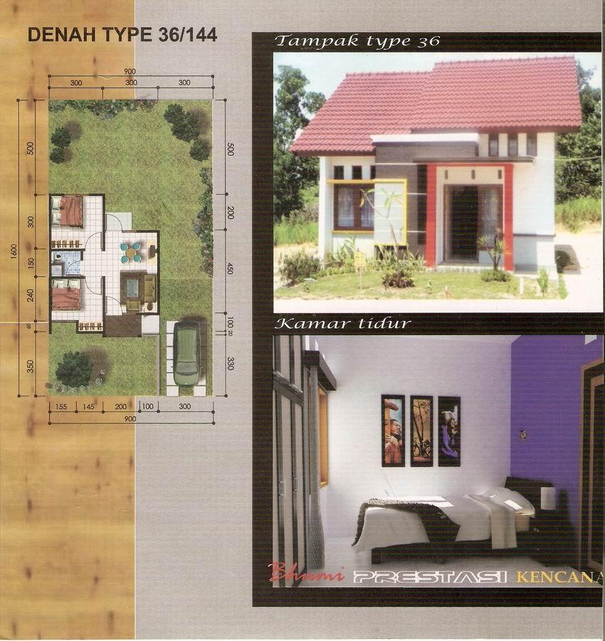 rumahku 1 contoh rumah minimalis type 36