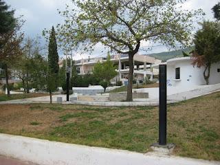 Στα γραφεία του συλλόγου Πανοράματος ο αντιδήμαρχος Μιχάλης Οικονομάκης.
