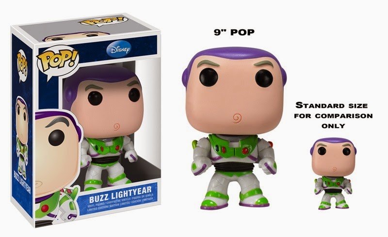 "9"" Buzz Lightyear Funko Pop!"