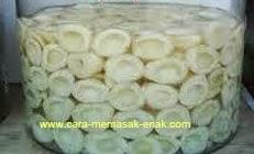 resep praktis dan mudah membuat (membikin) manisan buah salak spesial segar, enak, lezat