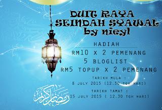 Segmen: Duit Raya Seindah Syawal by Nieyl