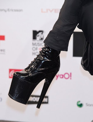 Lady Gaga Eccentric Shoes Collection
