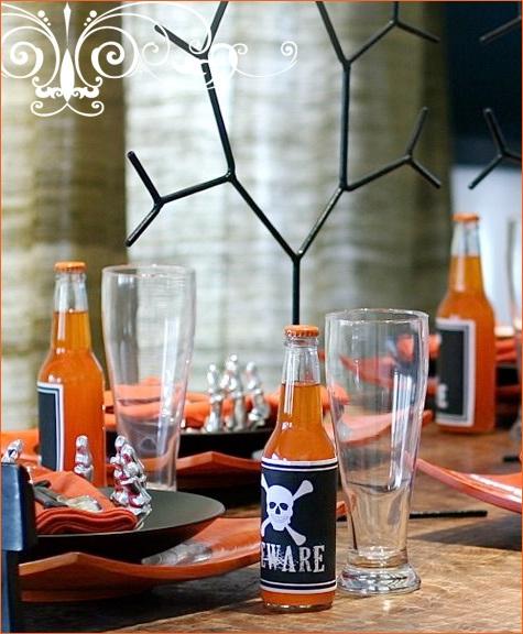 Decoracion Baño Halloween:halloween decoracion mesas