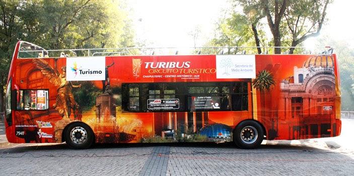 Turibús, México DF.