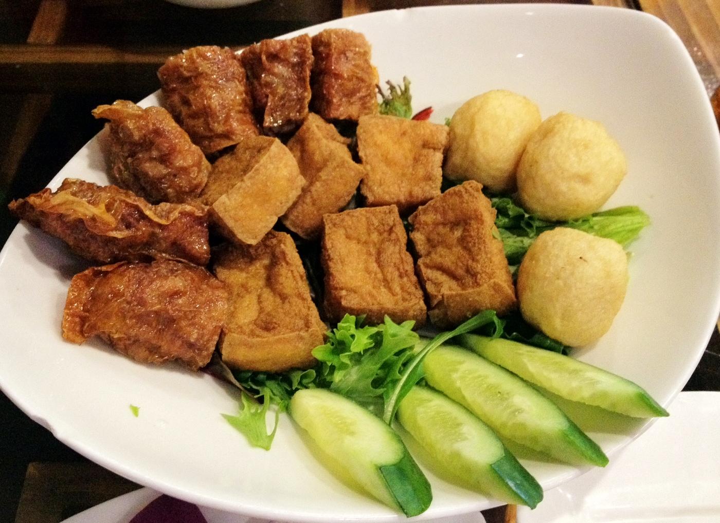 Fried Tofu Skin Roll Tofu Skin Roll 腐皮巻