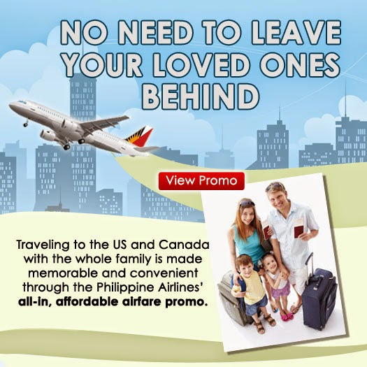 Mango Tours Philippine Airlines' 1st Time Immigrant Promo
