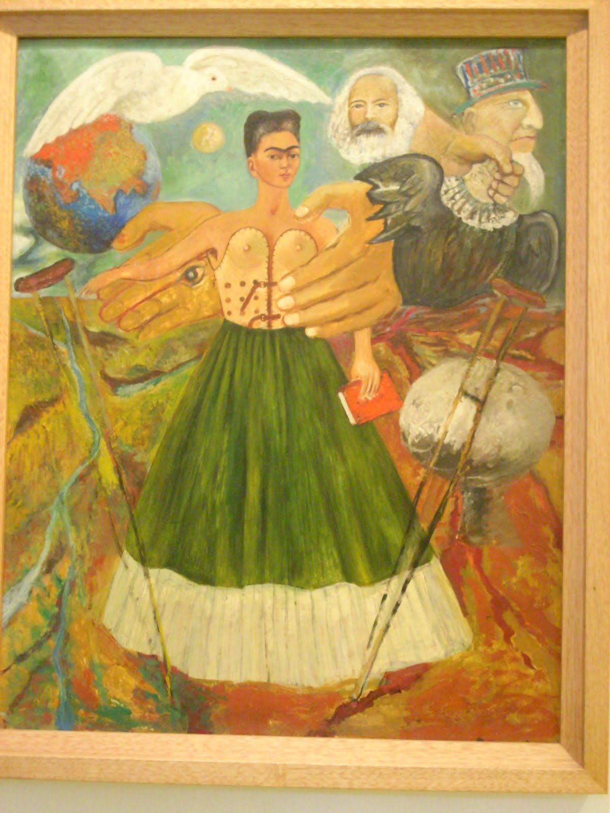 Rebeca mexico 2011 frida kahlo y diego rivera for Diego rivera lenin mural