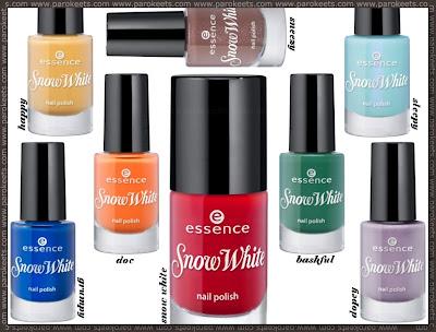 smalti essence snow white