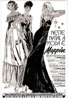 propaganda Loja Mappin - 1977, Mappin Sotore, moda anos 70; propaganda anos 70; história da década de 70; reclames anos 70; brazil in the 70s; Oswaldo Hernandez