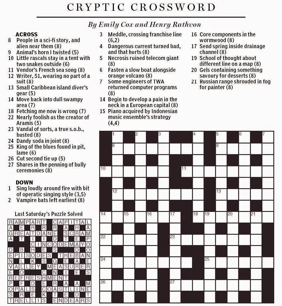National post cryptic crossword forum august 2014 introduction biocorpaavc