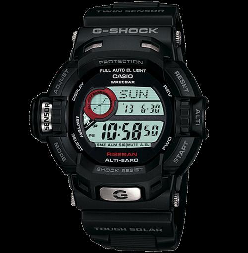 3f7c4002406 Faça aqui o download do manual completo de operação do relógio Casio  G-Shock 9200-1DR