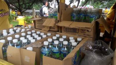 Bersih 4: Plenty free drinking water