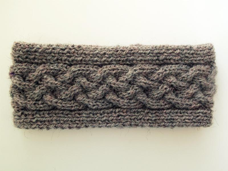 Knitting Pattern Cable Knit Headband : Ololi Makes: CABLE KNIT HEADBAND
