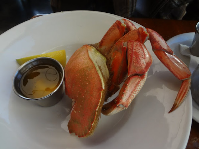 Dungeness crab from Sandbar restaurant in Vancouver