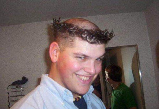 funny haircuts - online icon