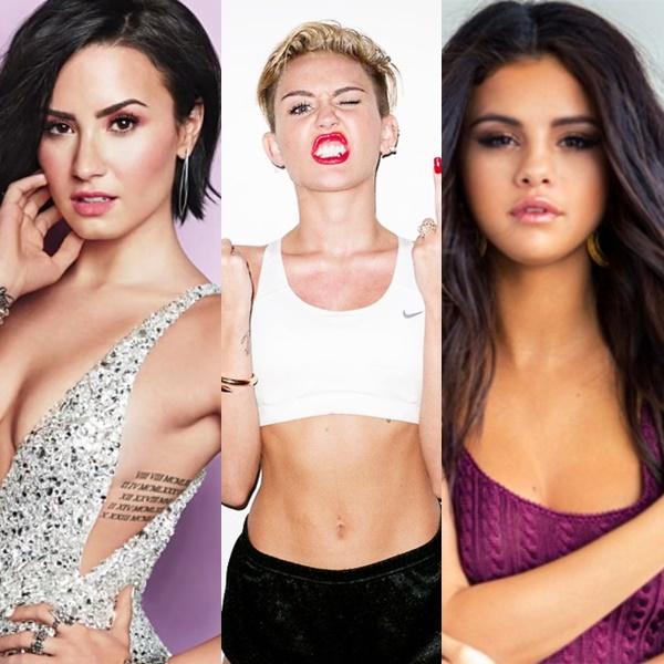 Demi Lovato habló sobre Miley Cyrus y Selena Gomez