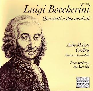 Boccherini: Quartets for Two Harpsichords / Grétry: Sonatas for Two Harpsichords