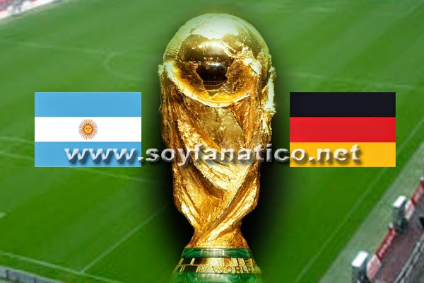 World Cup 2014 Final, Germany vs Argentina